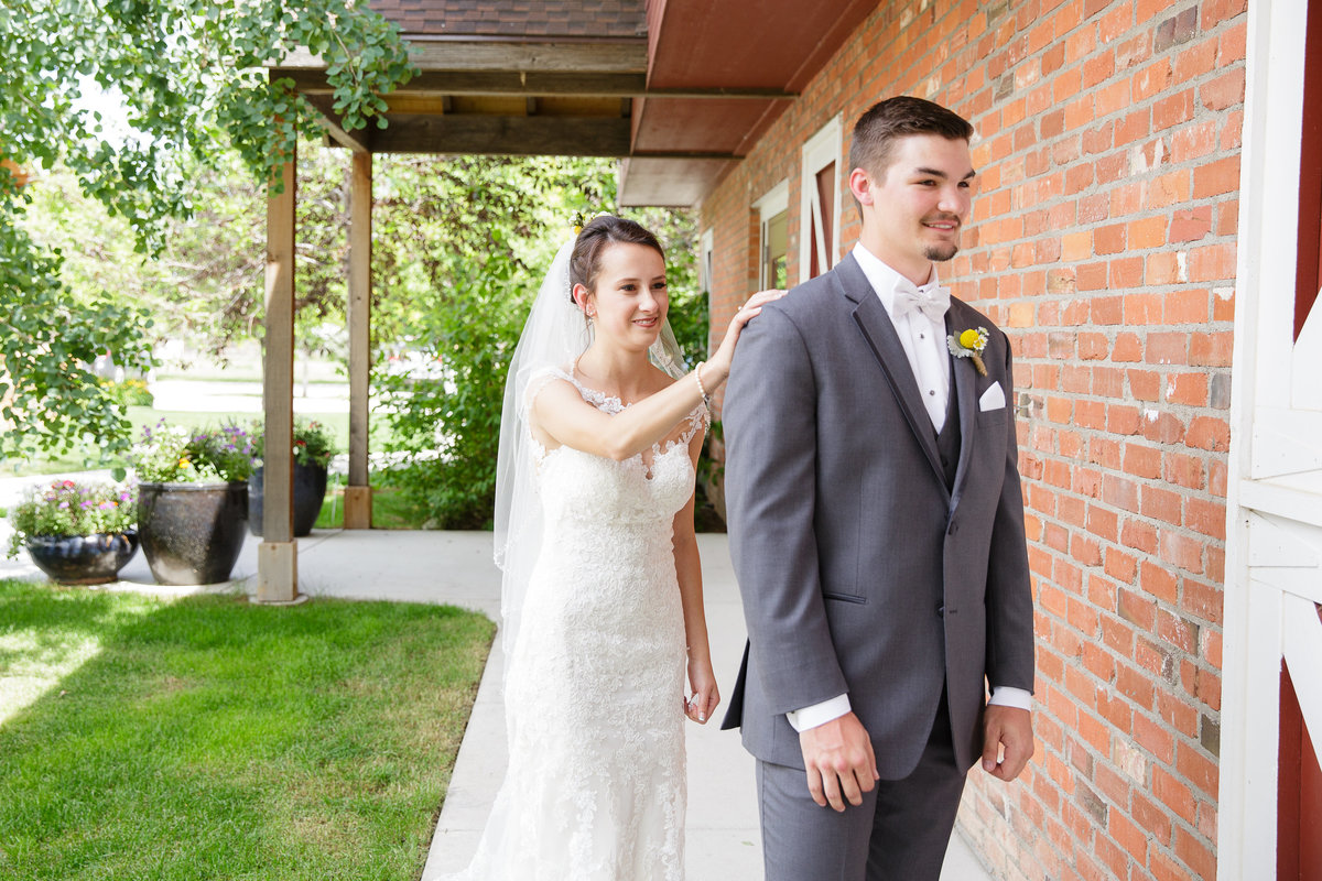 first-looks-bride-and-groom-Colorado-garden-wedding3