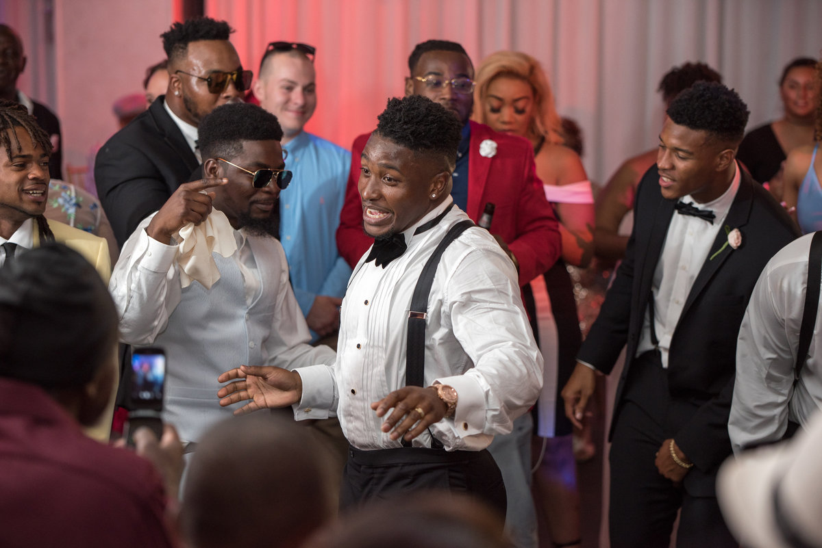 NFL Miami Dolphins Brandon Radcliff ShaKyra Radcliff Briza on the Bay Wedding Andrea Arostegui Photography-294