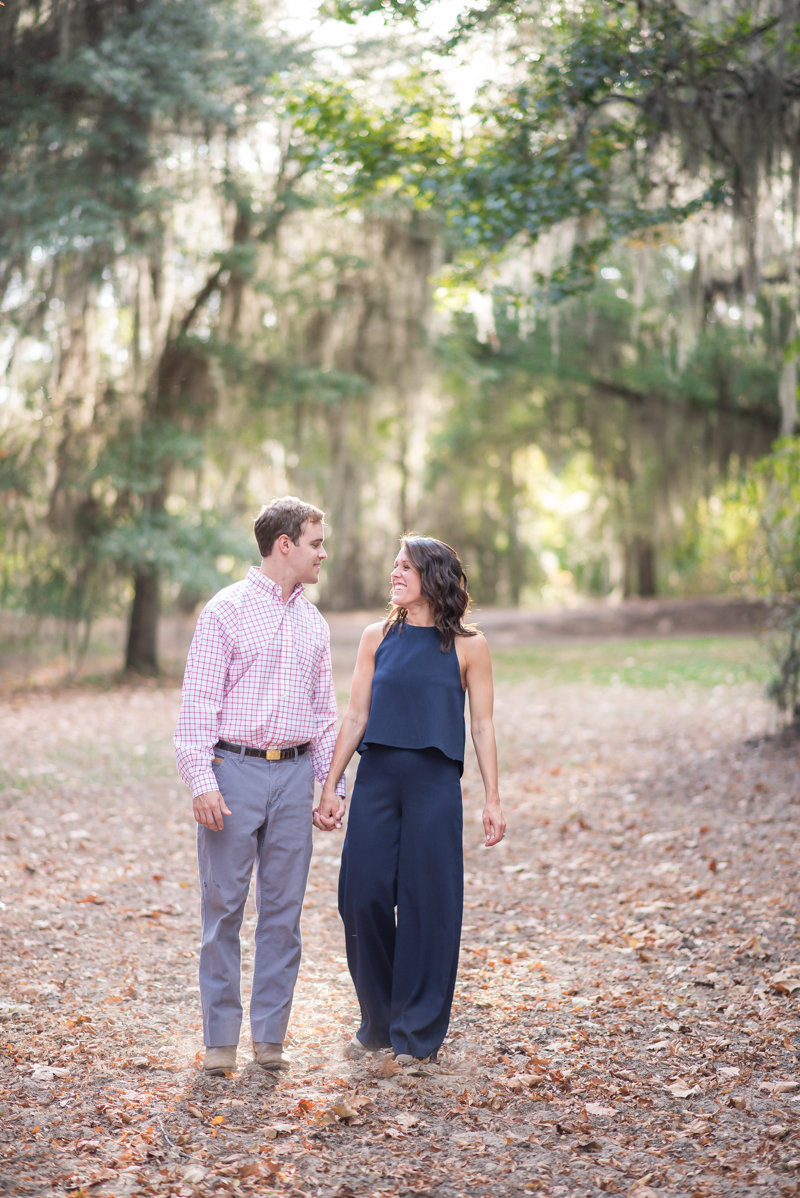 Sunset Engagement Session by Georgia Wedding Photographer Eliza Morrill-7