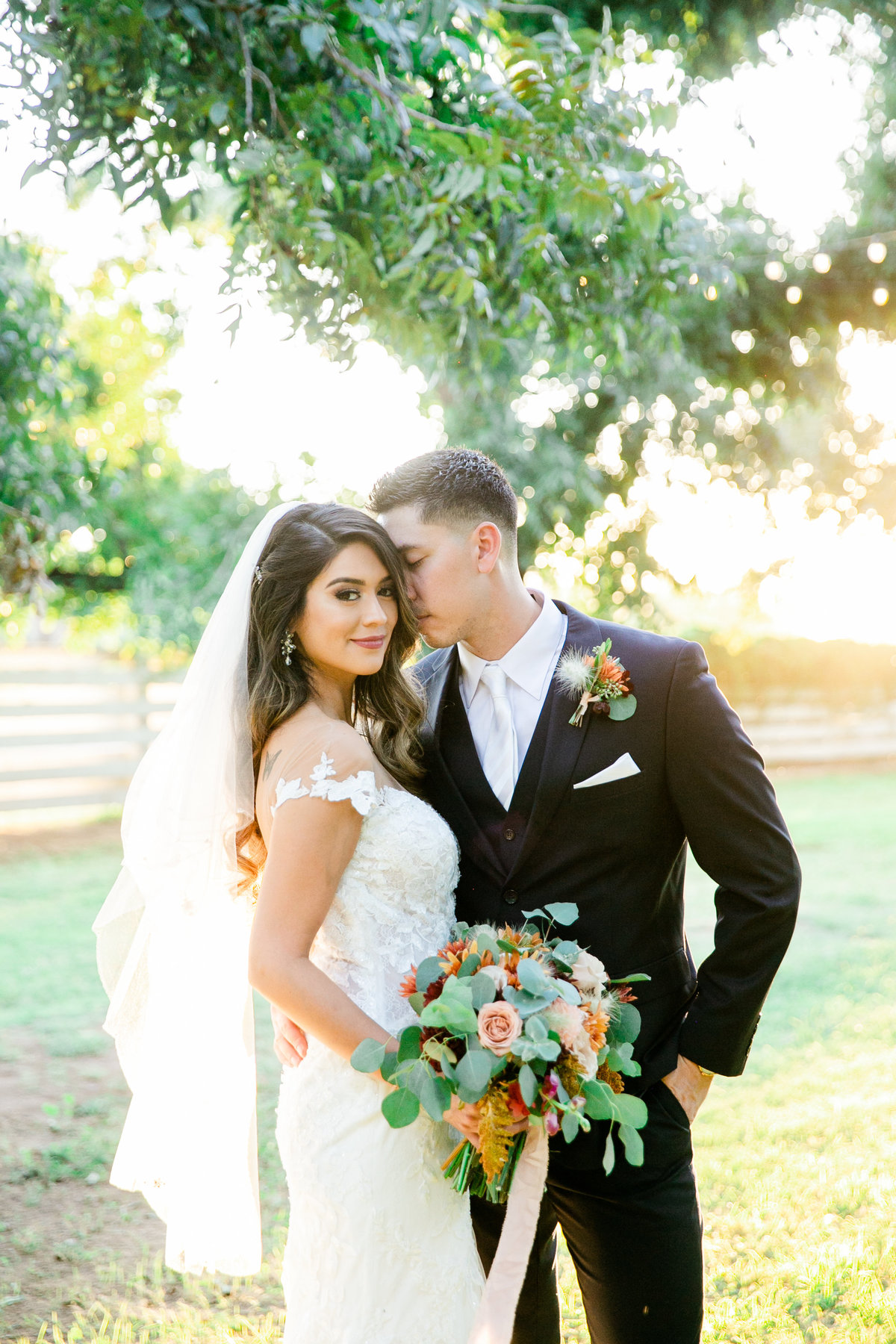 Karlie Colleen Photography - Phoenix Arizona - Farm At South Mountain Venue - Vanessa & Robert-560