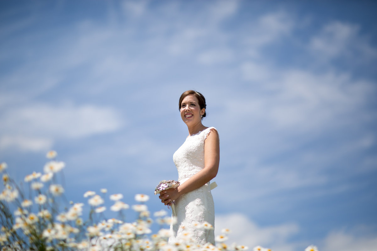upton barn wedding bride