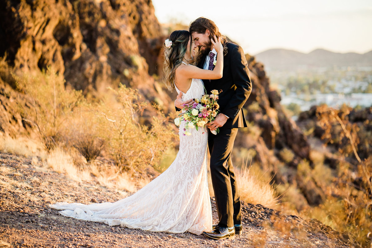 Atlas Rose Photography AZ - Adventure Elopement At The Buttes 02