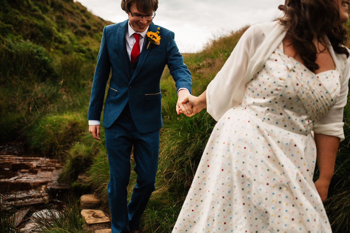 Yorkshire Dales Alternative Wedding Photos
