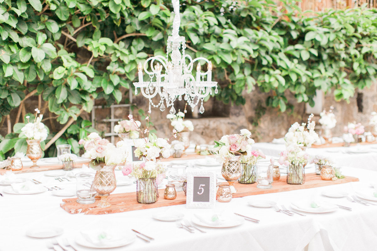 French Chic Outdoor Wedding Reception