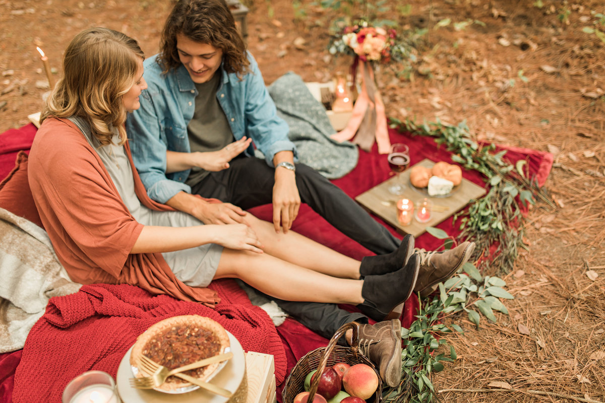 Busch Wildlife  Defiance, MO  Fall Picnic Colorado Themed Surpise Proposal  Cameron + Mikayla  Allison Slater Photography290