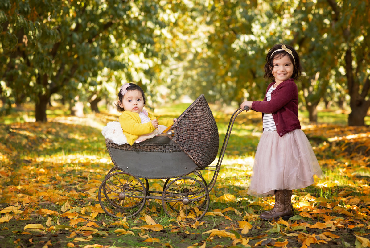 fall family session in fresno, ca