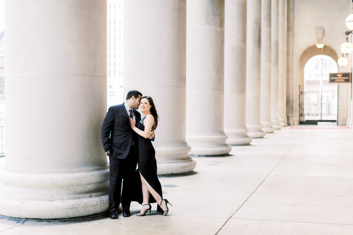 TiffaneyChildsPhotography-ChicagoWeddingPhotographer-Alana+Giancarlo-NorthAvenueBeachUnionStationEngagementSession-93