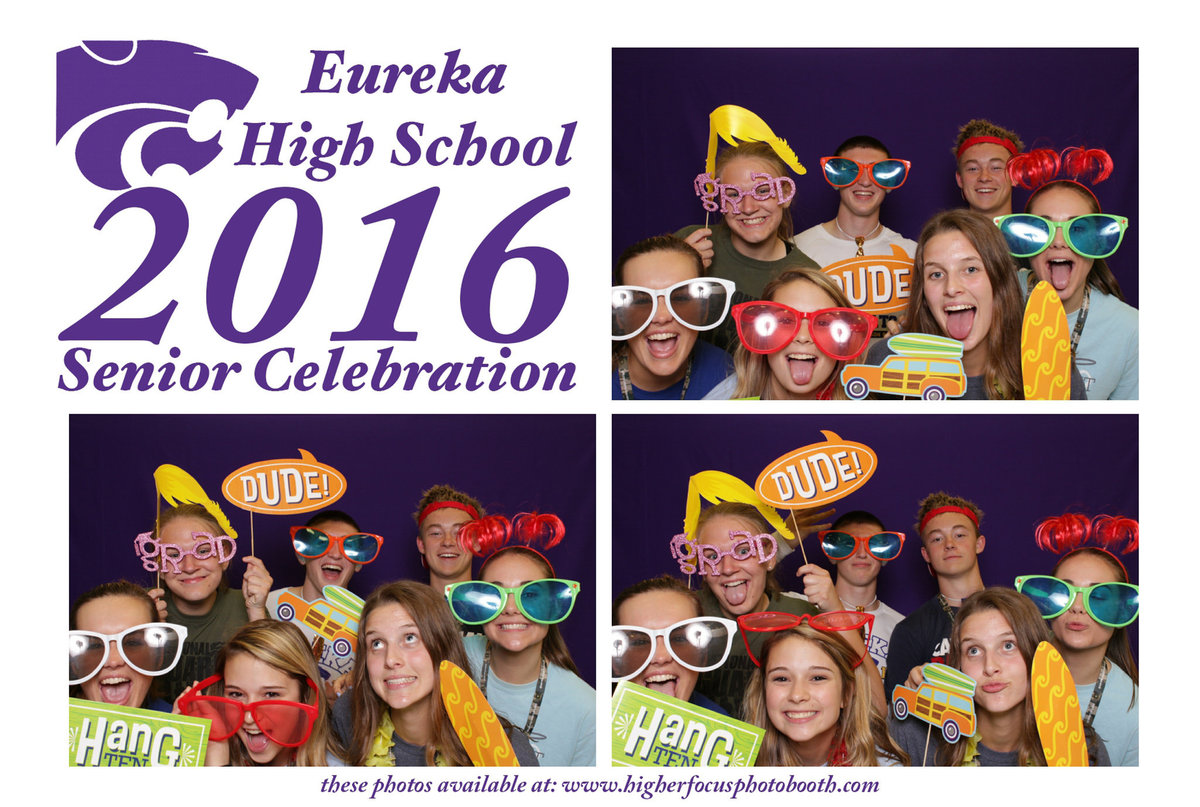 Eureka High School 2016 Celebration Photo Booth Pictures