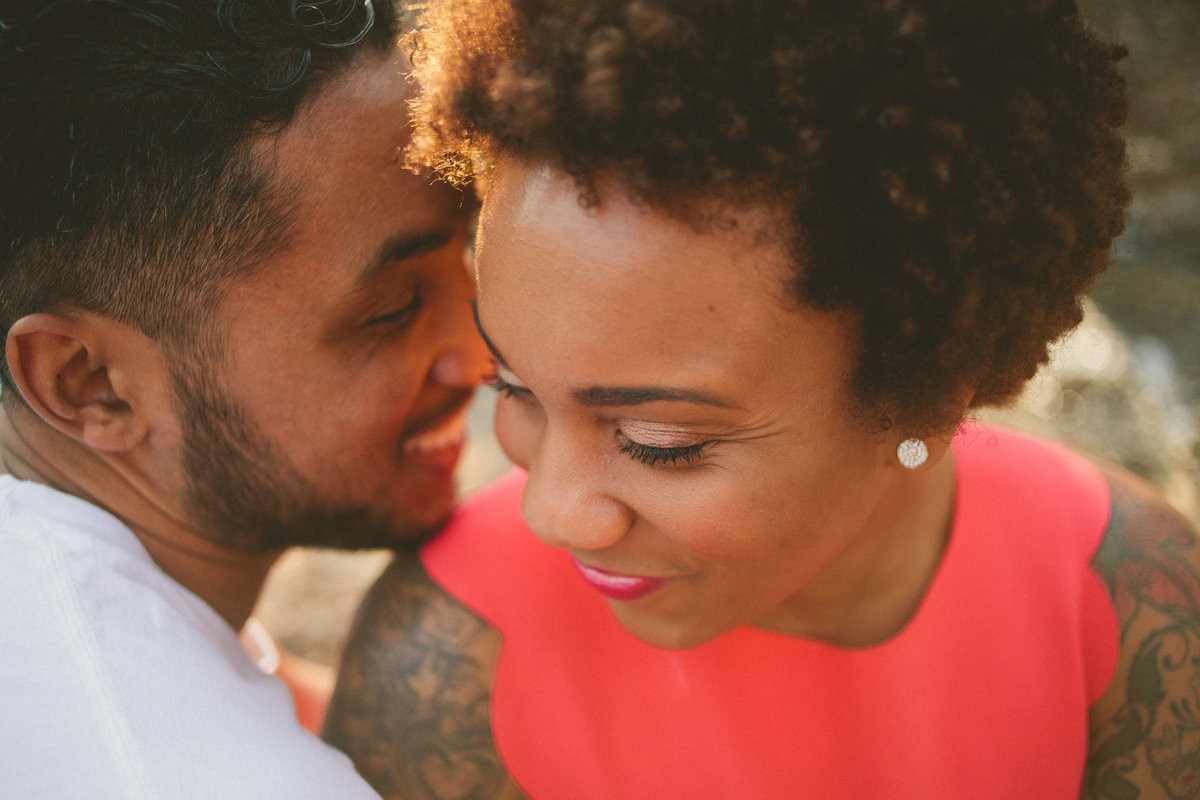 Alternative Couple With Tattoos Photography Atlanta