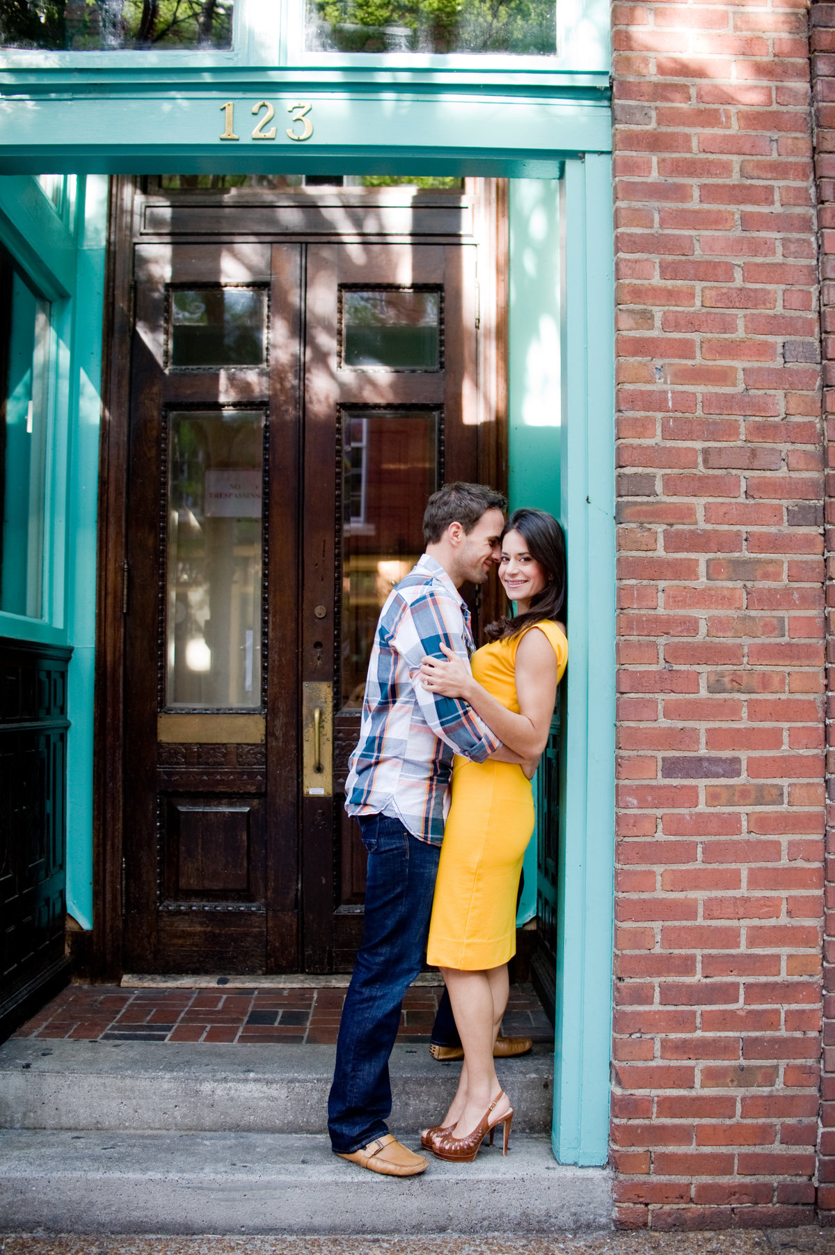 Downtown Nashville Engagement Photography 1