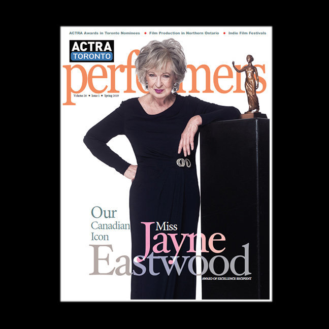 Jayne Eastwood for ACTRA