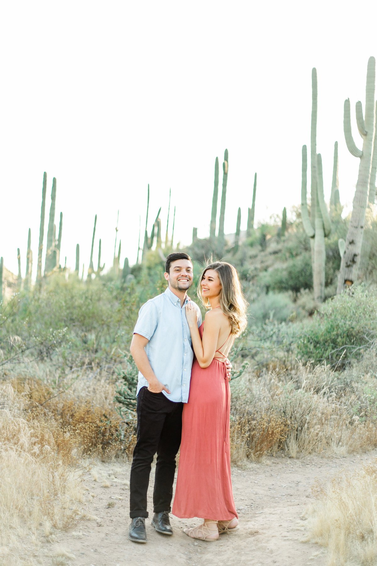 Karlie Colleen Photography - Arizona Desert Engagement - Brynne & Josh -90