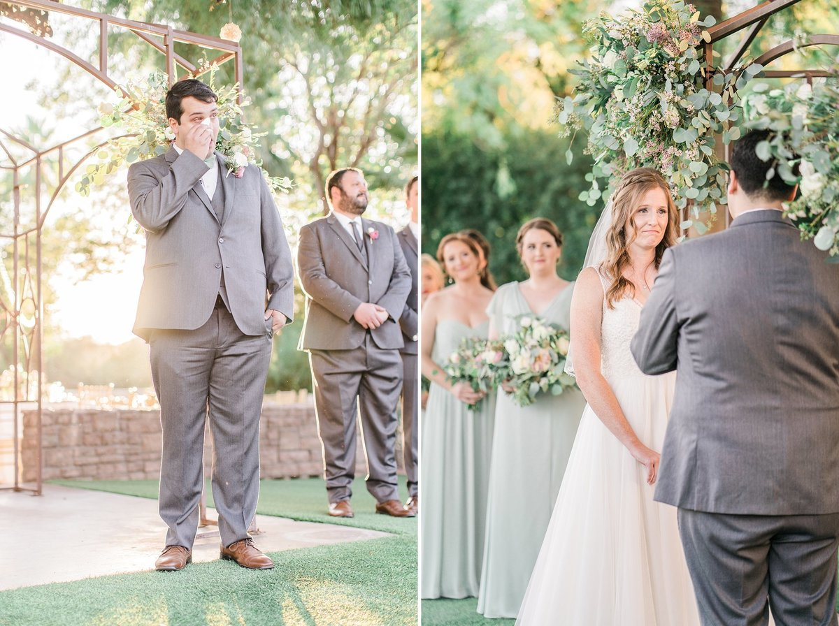 Secret Garden wedding photos ceremony Arizona wedding photographers Dan & Erin PhotoCinema