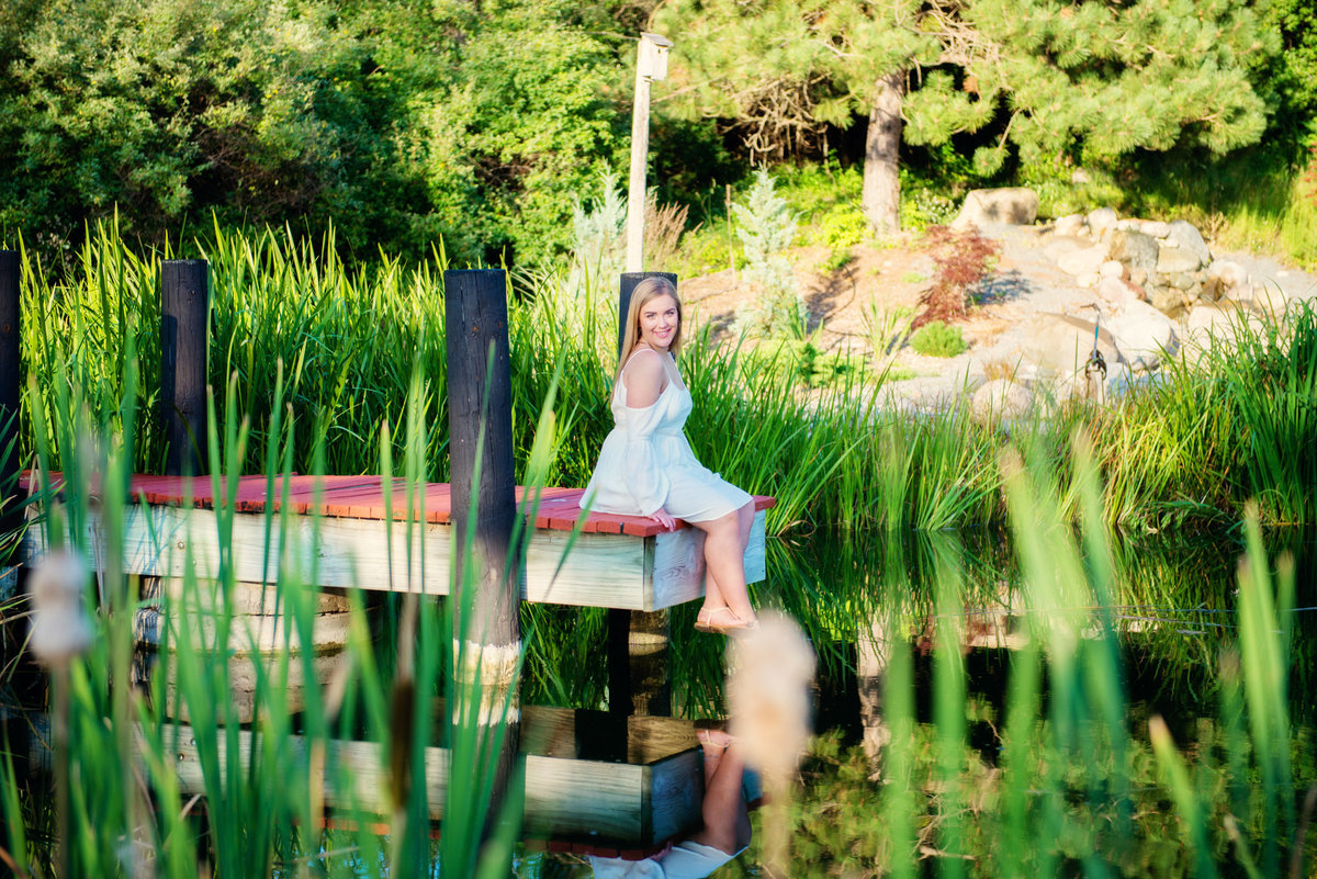 traverse city michigan senior picture photography