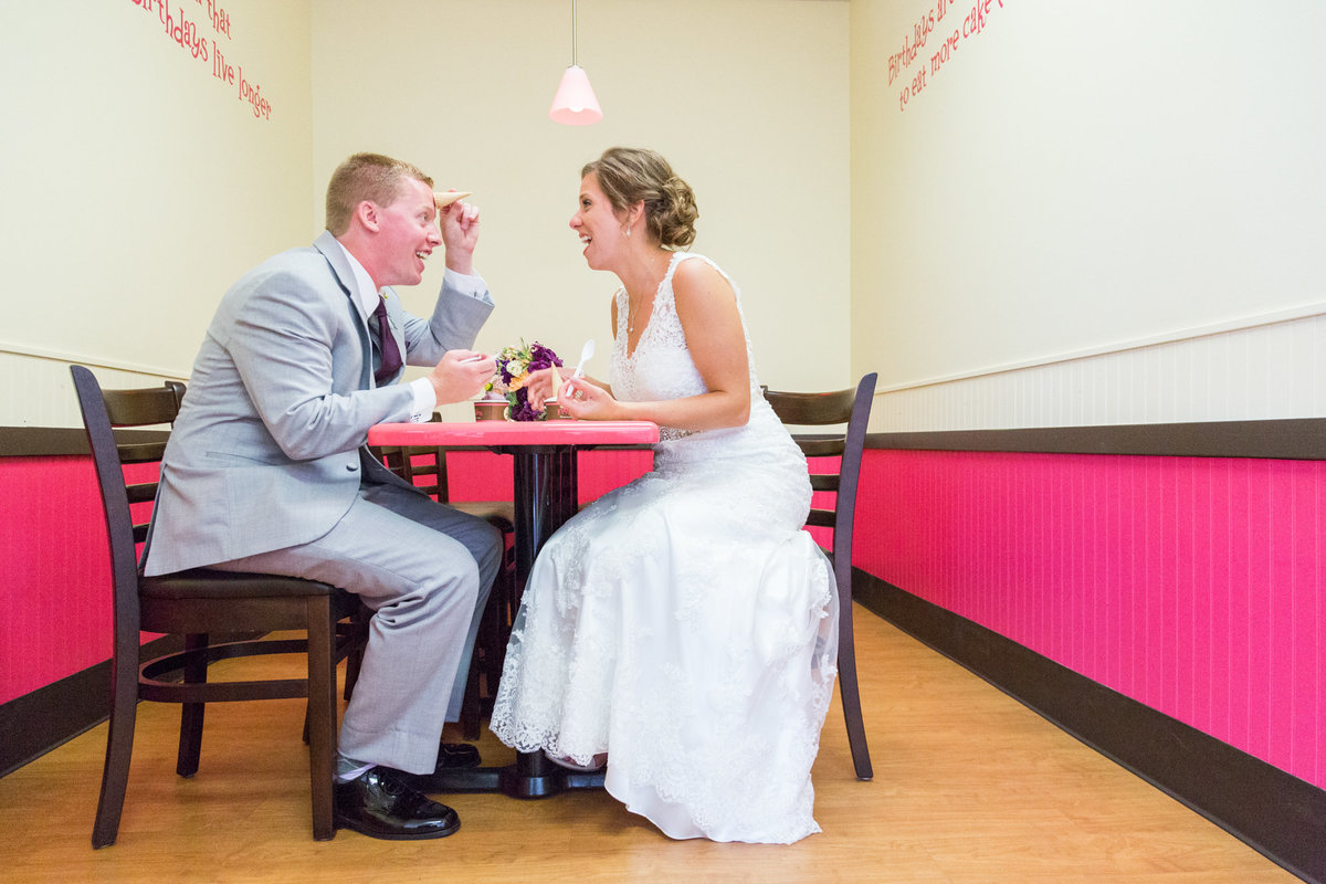 Their first date spot was just too good to pass up as a stop on their wedding day.  LOVE LOVE LOVE these two!