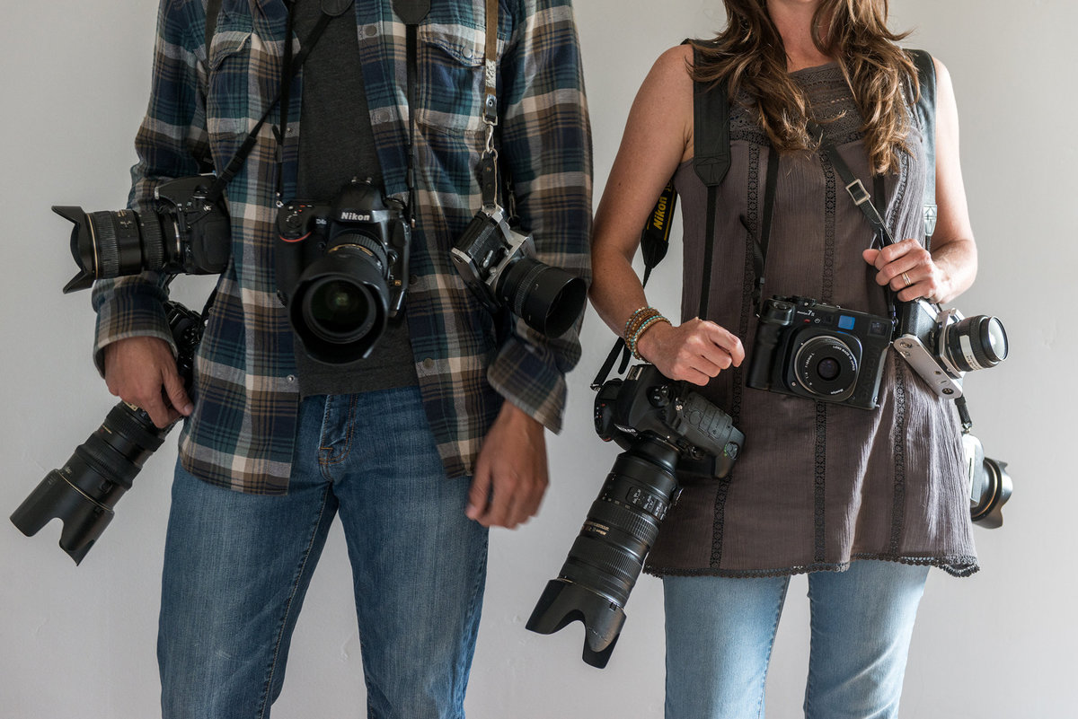 Wedding-Photographers-with-all-their-camera-gear