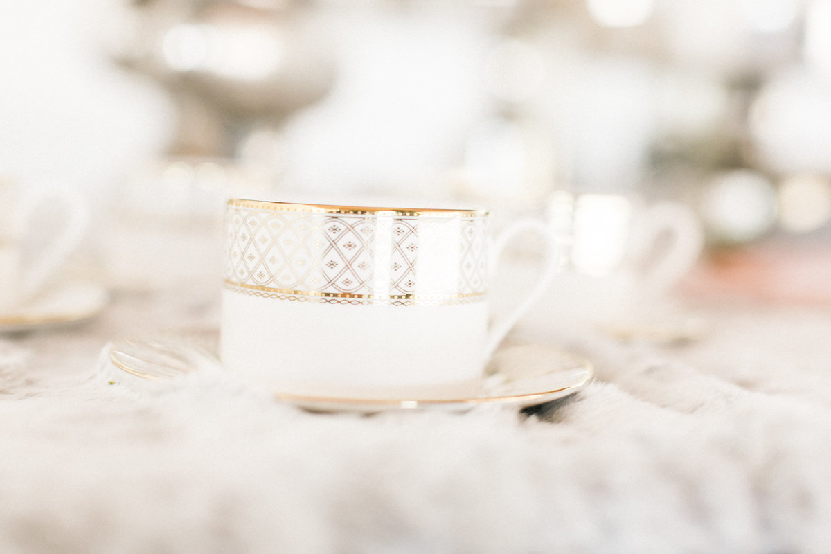 Gilded Coffee Cups