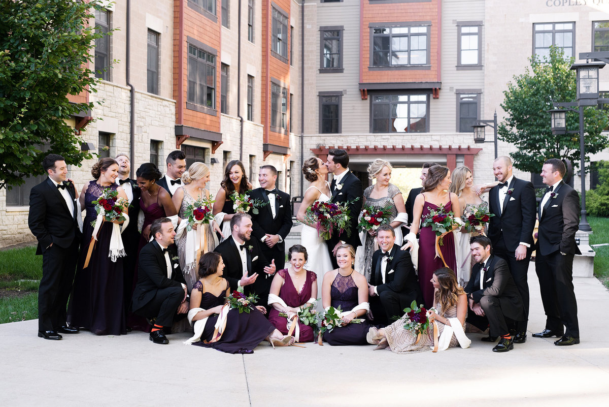 Luxury wedding kansas city