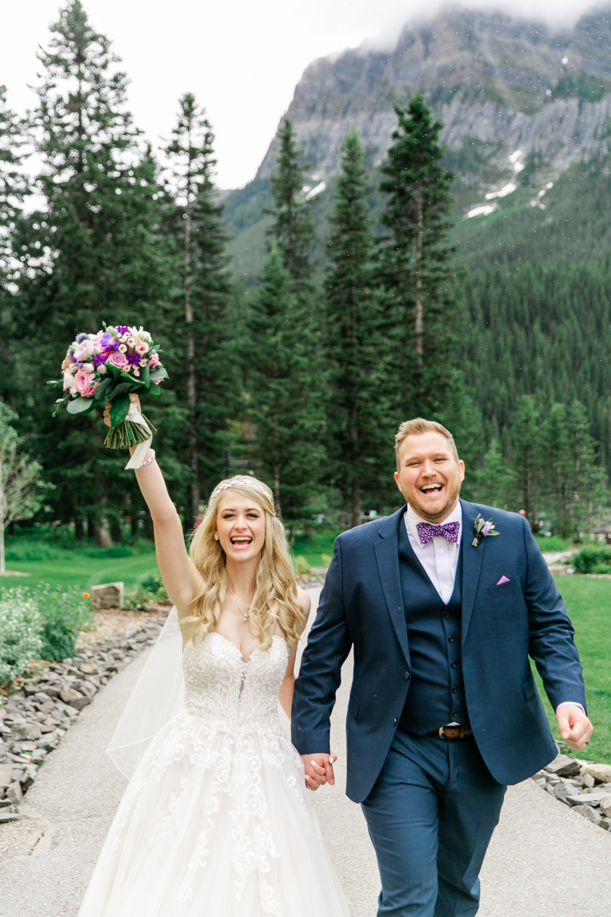 Karlie Colleen Photography - Fairmont Chateau Lake Louise Wedding - Banff Canada - Sara & Drew Forsberg-994