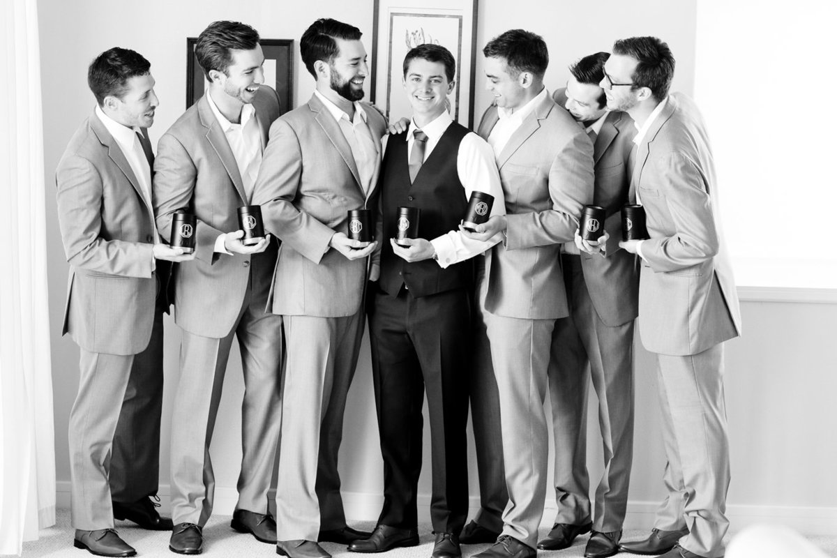 Destination Wedding Photography Bay Area and More, Black and White Groomsmen