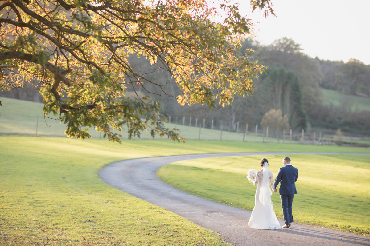 winter wedding at st audries park in november by evolve photography