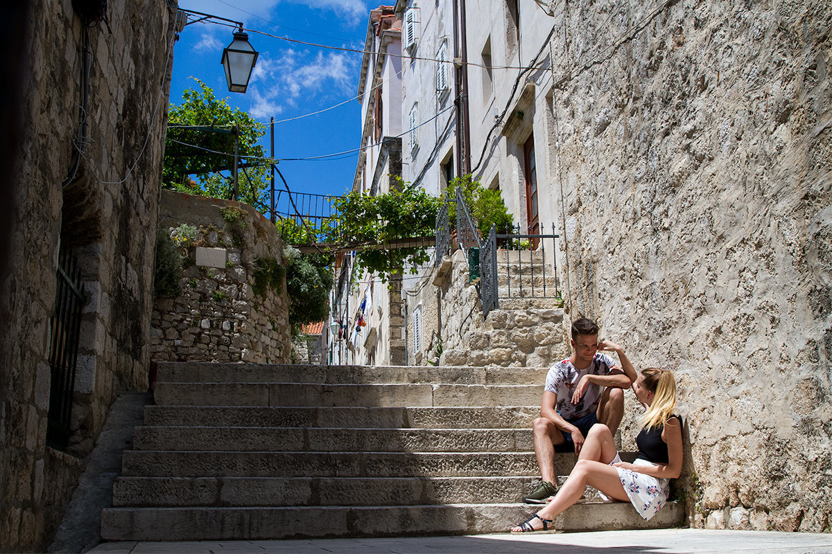 couple in dubrovnik croatia