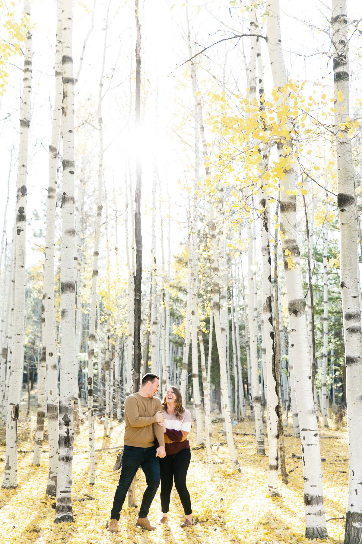 Karlie Colleen Photography - Flagstaff Arizona Engagement Photographer - Britt & Josh -10