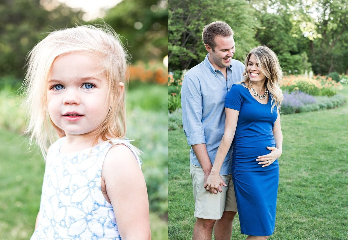 Chicago Family Photographer at Lincoln park during Golden Hour