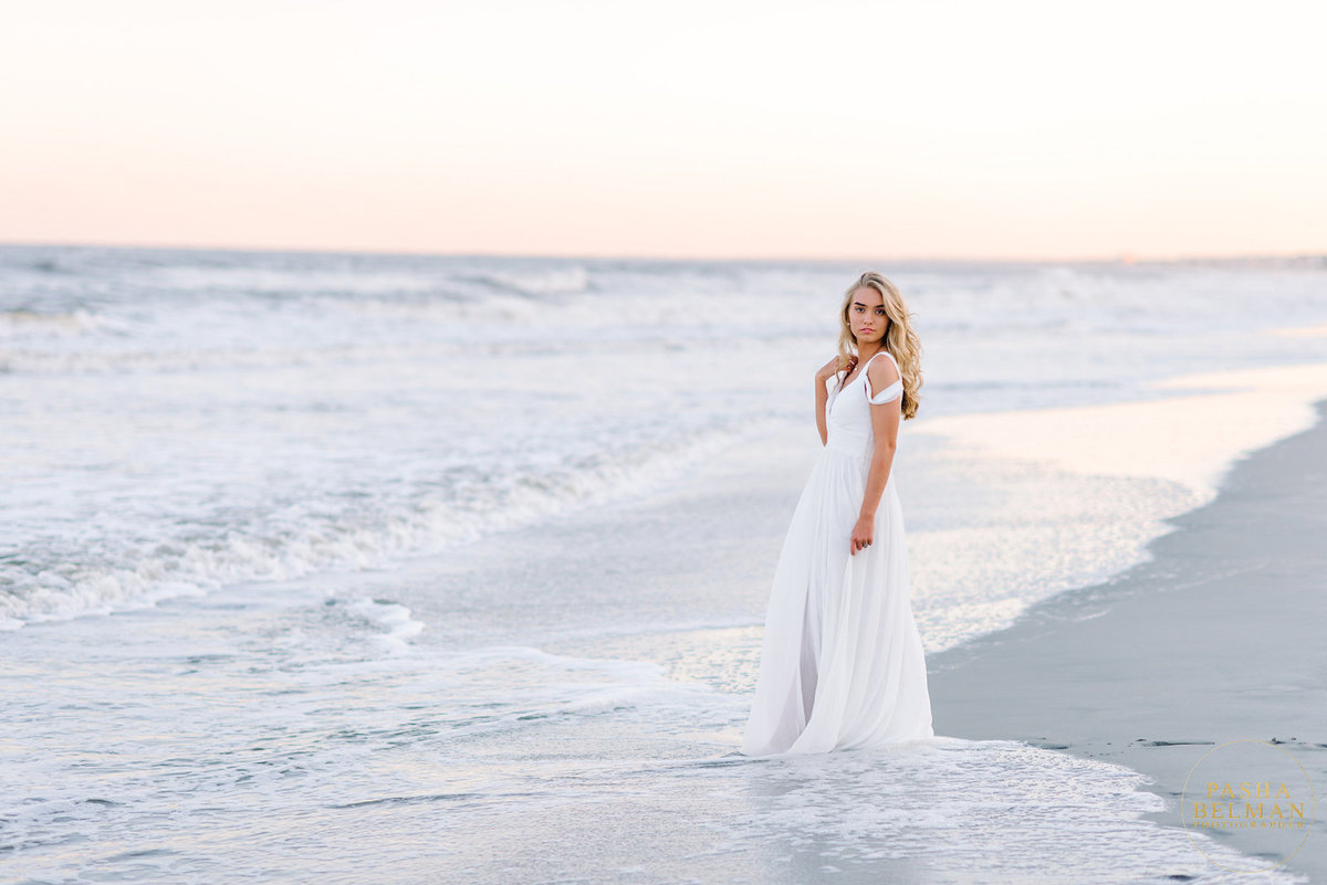 South Carolina Beach Senior Pictures by Pasha Belman - Top High School Senior Photographers in Myrtle Beach and Charleston