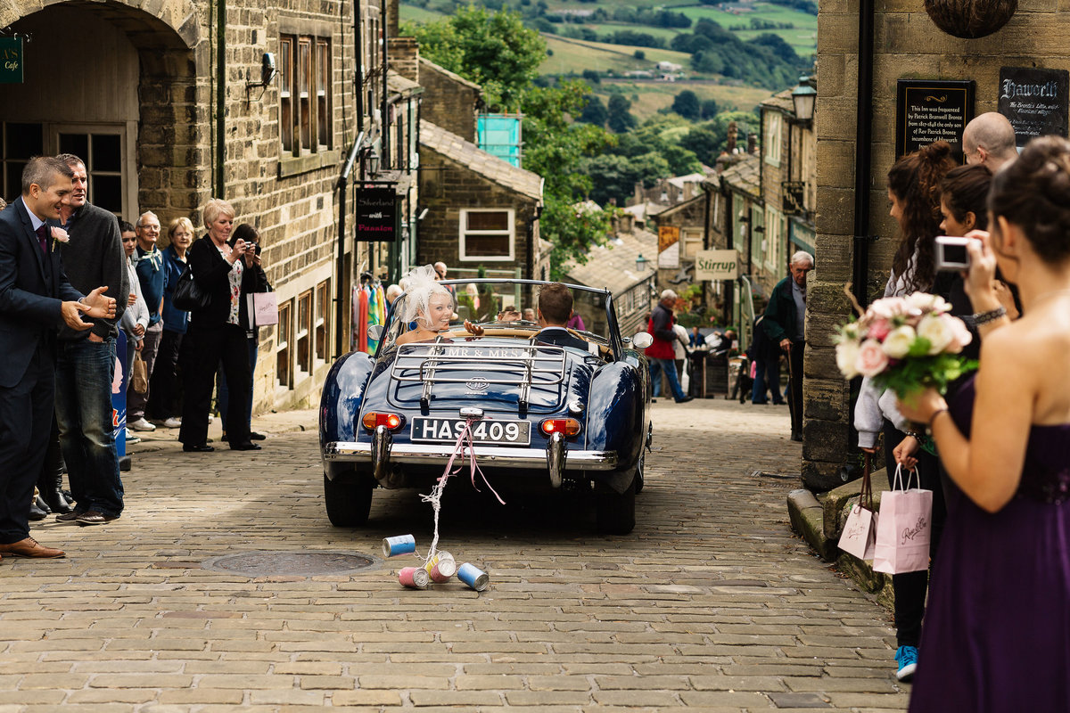 Haworth Church Wedding PIctures