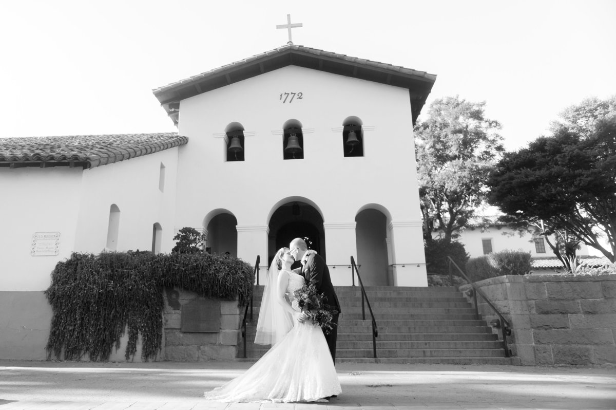 San Luis Obisbo mission wedding