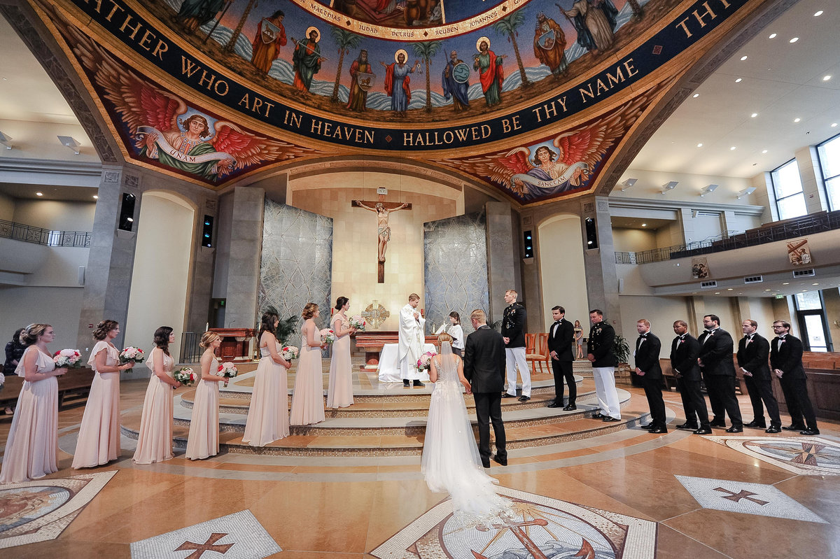 St. John Neumann Catholic Church wedding