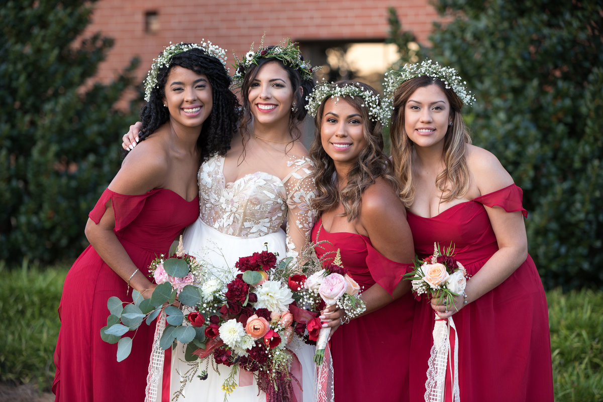 Boho Wedding Bridesmaids Inspiration