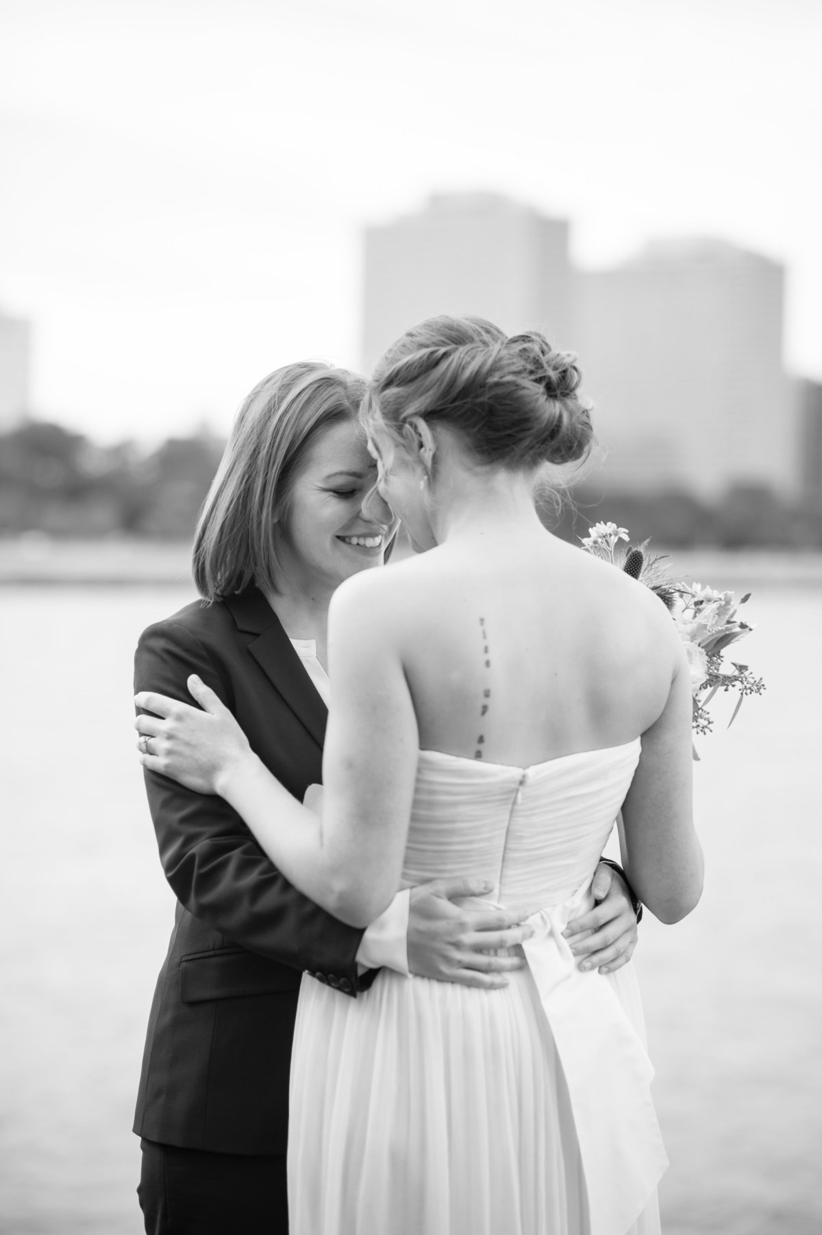 Destination Wedding Photography Chicago Wedding Photography LGBT Wedding Photography Promontory Point052