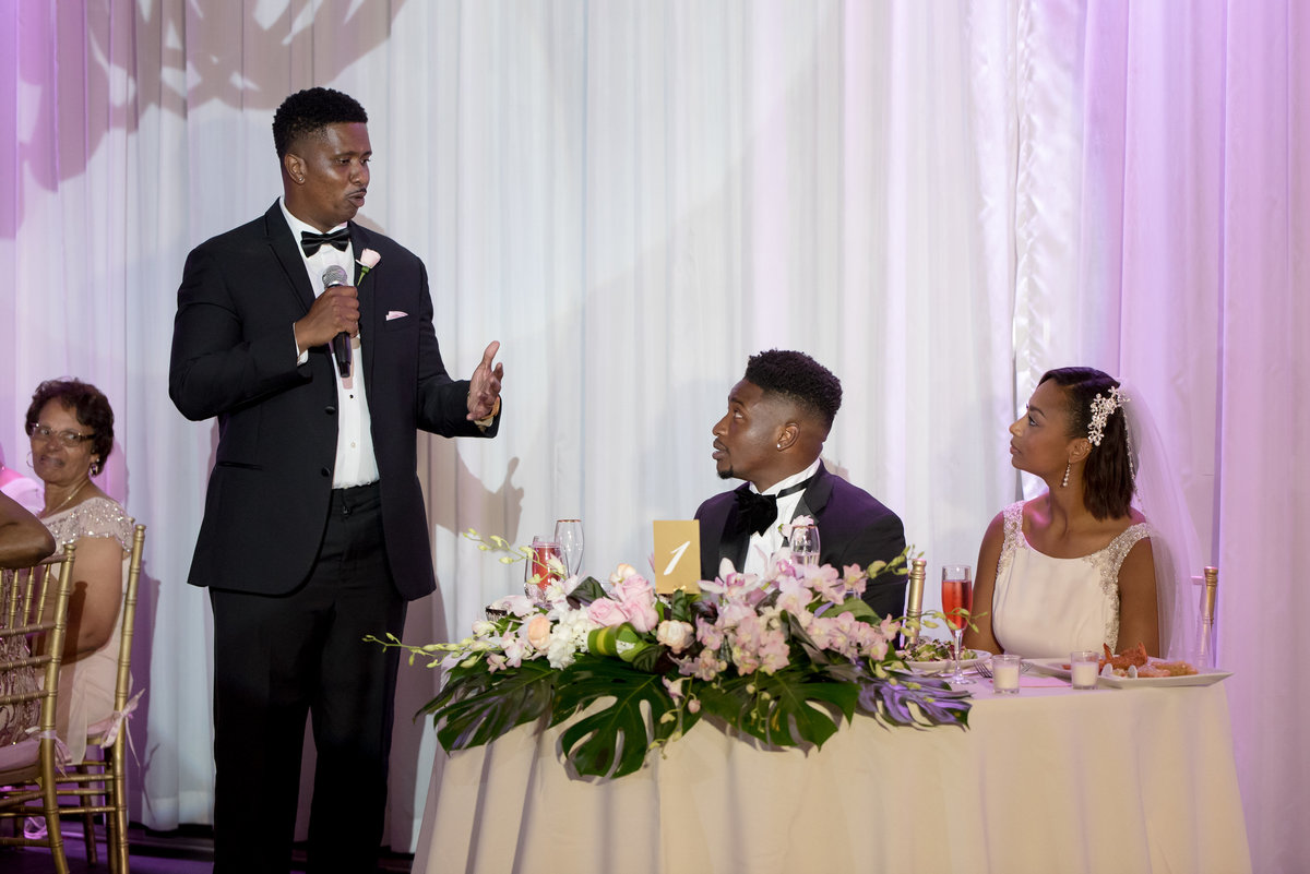 NFL Miami Dolphins Brandon Radcliff ShaKyra Radcliff Briza on the Bay Wedding Andrea Arostegui Photography-259