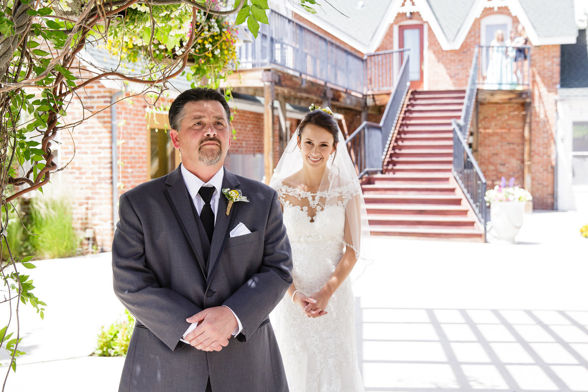 first-look-with-dad-Colorado-garden-wedding1