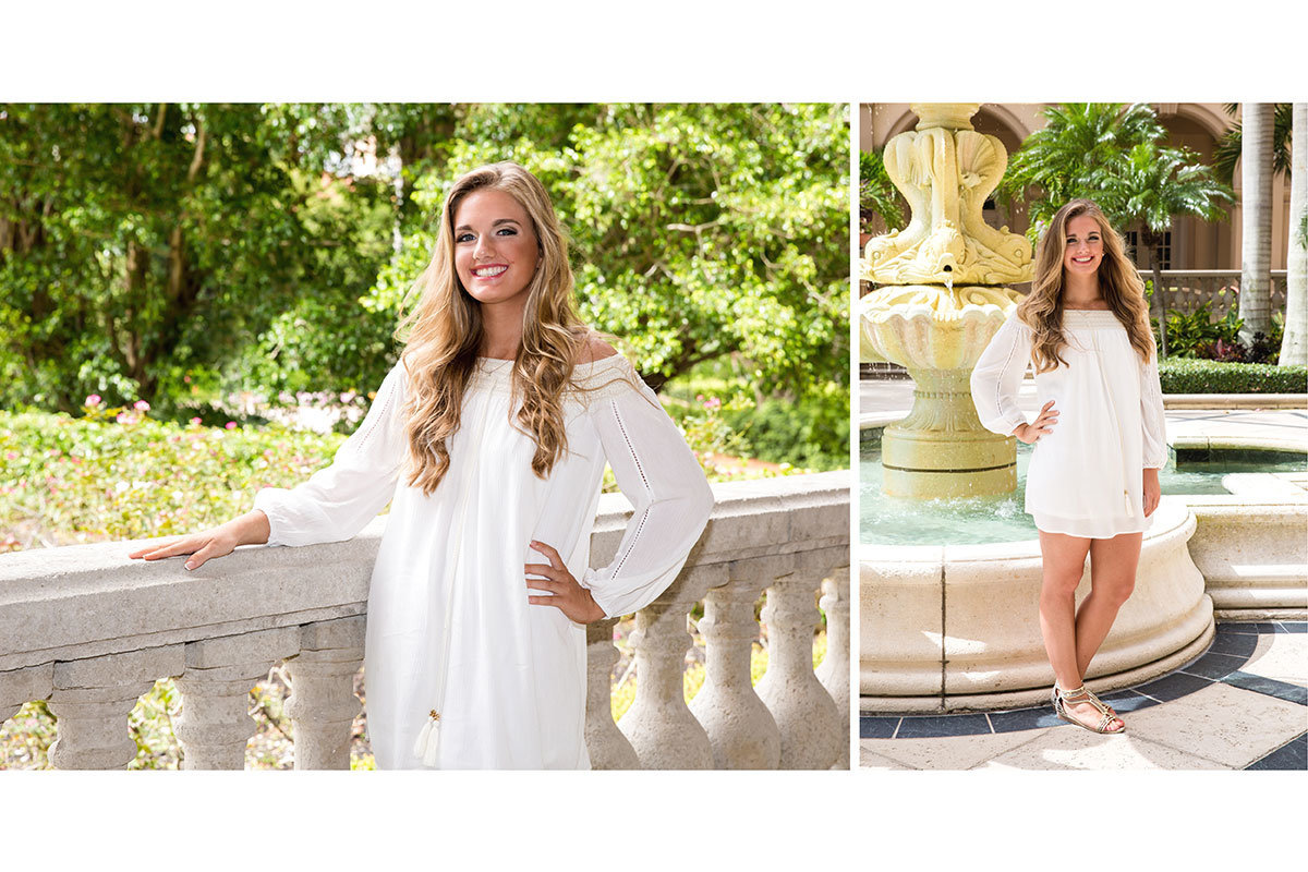 ritz carlton naples florida senior portrait