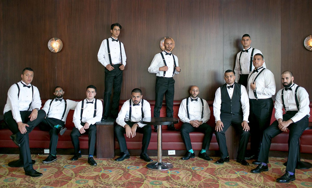 Groom & Groom's Men_