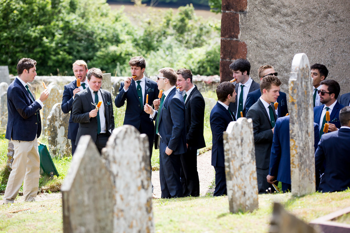groomsmen torbay wedding devon