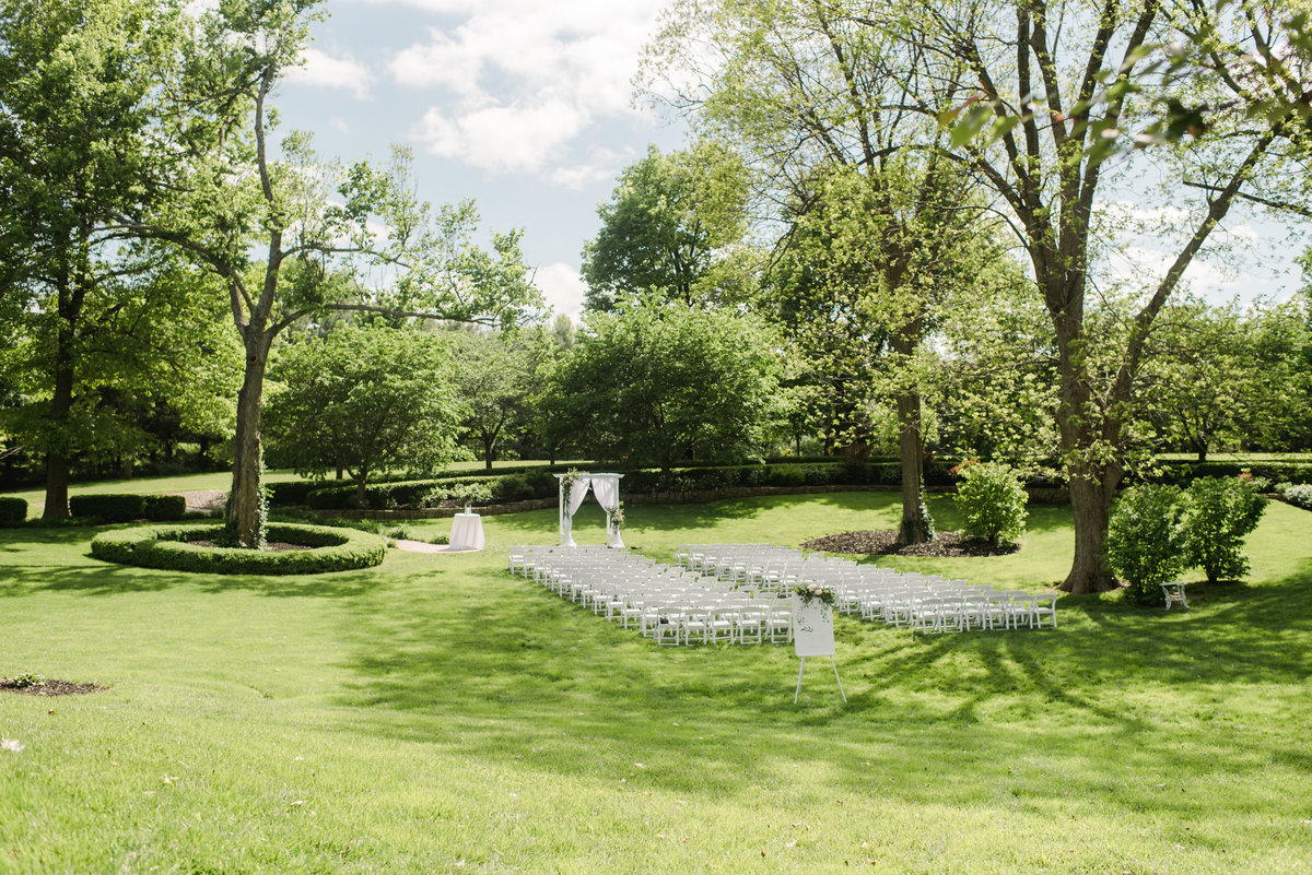 Ceremony at Haseltine Estate