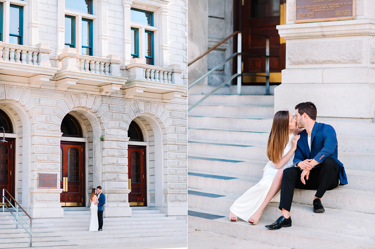 Historic Downtown Charleston Engagement Session - Charleston Wedding Photographer Pasha Belman