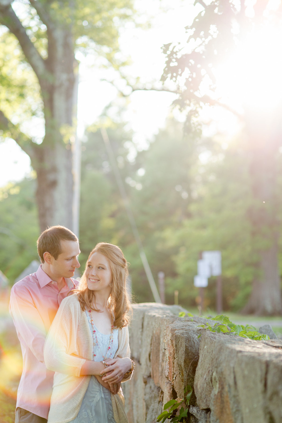 maudslay state park engagement session at sunset