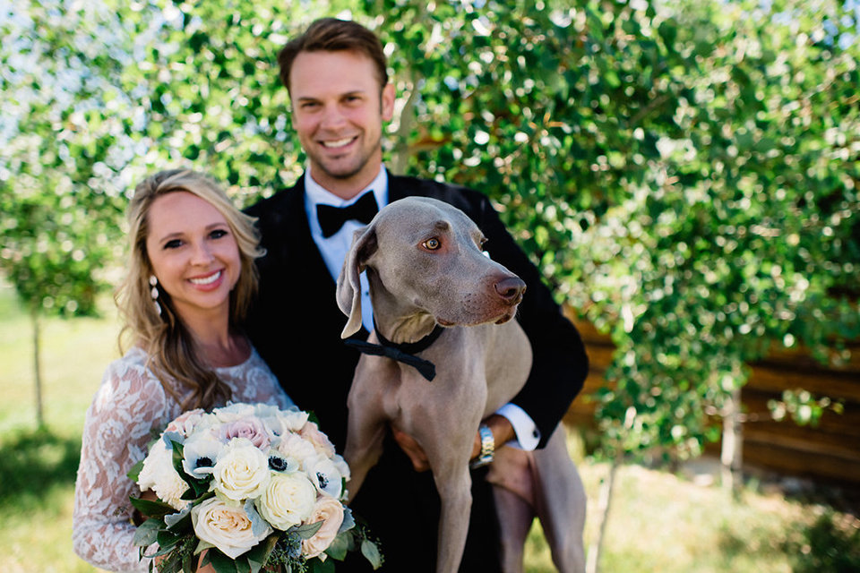 Strawberry-Creek-Ranch-Modern-Minimalist-Outdoor-wedding-in-Granby-Colorado-with-dog
