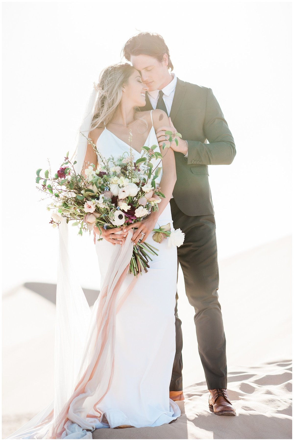 Glamis Desert Bohemian Wedding Styled elopement southern california sand dunes photo001