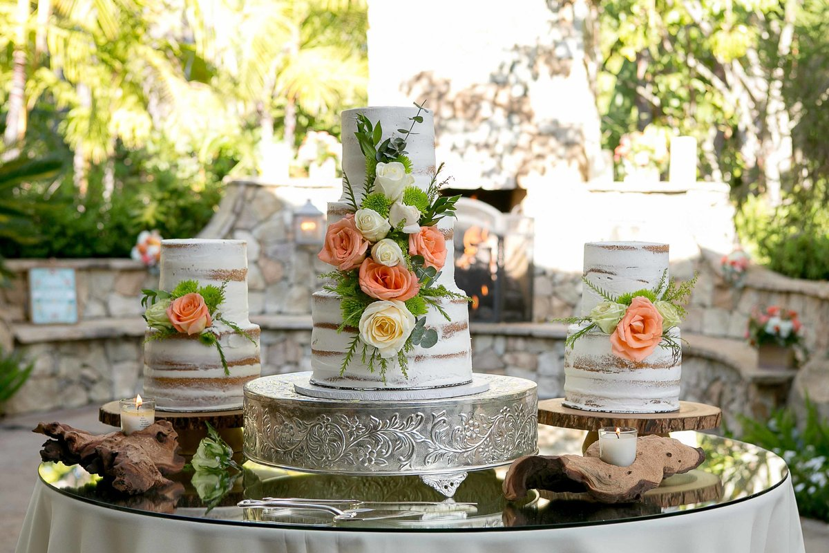 San Diego Wedding Cake_