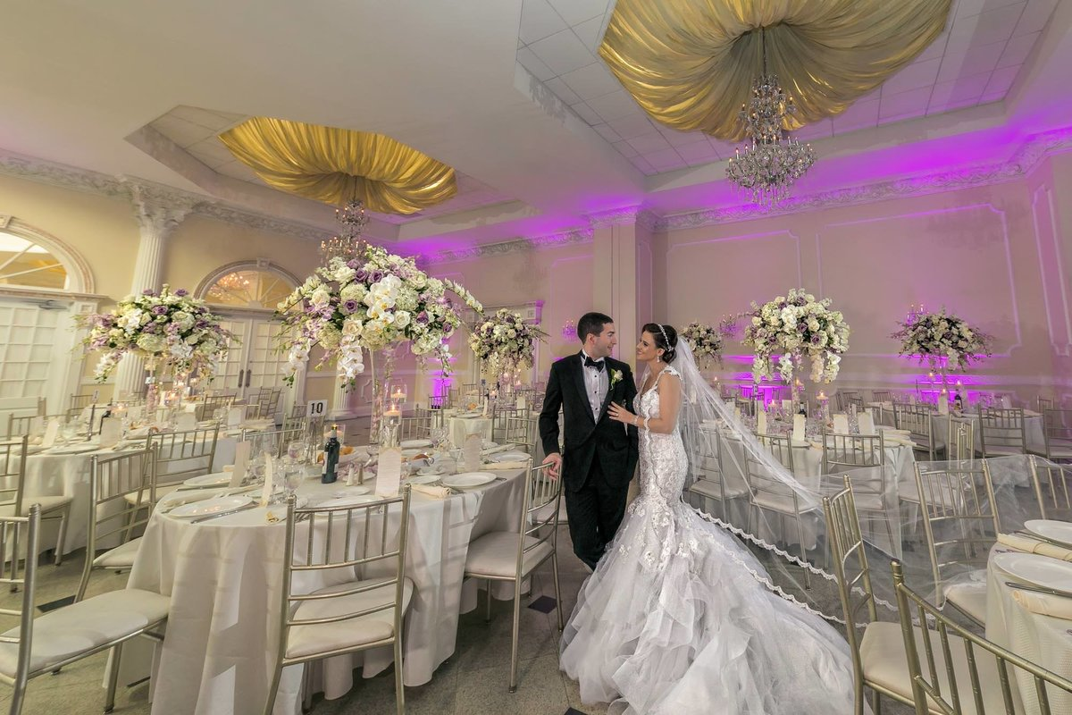 NJ Wedding Photographer Michael Romeo Creations addison park ballroom
