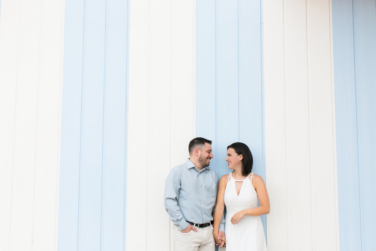 engagement session at Disney Boardwalk