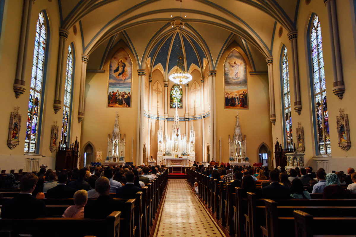 Dayton Ohio Church Wedding Photographer