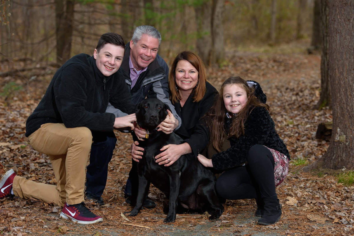 Bernini Park, Clifton Park, NY, Lane family portrait
