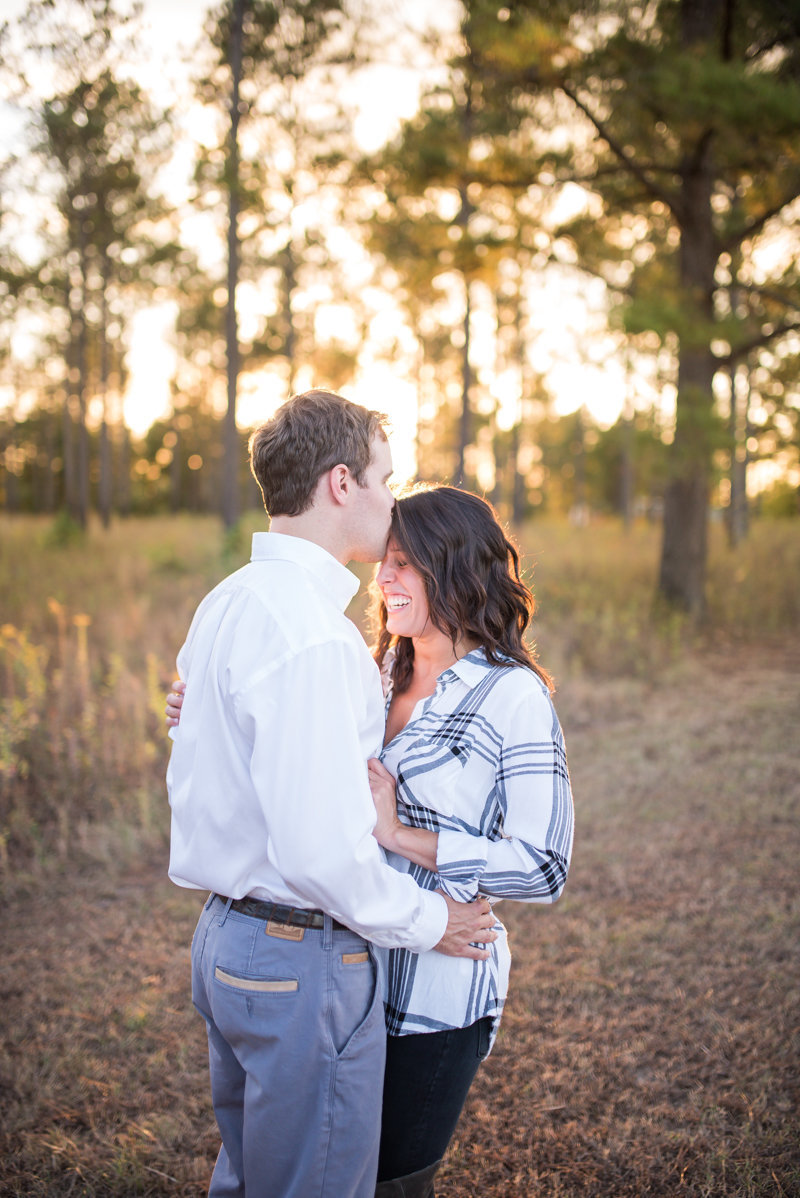 Sunset Engagement Session by Georgia Wedding Photographer Eliza Morrill-23
